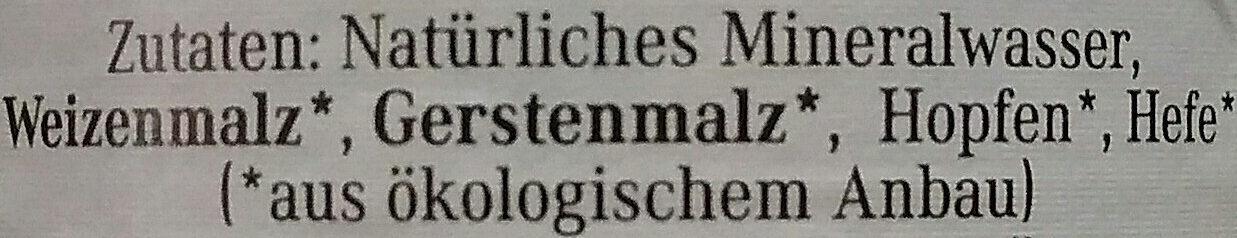 Weiße - Ingredients - de