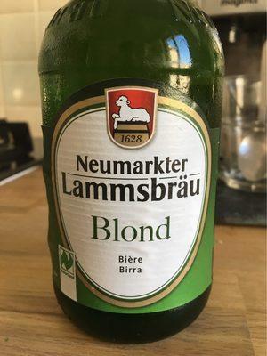 Blond - Voedigswaarden