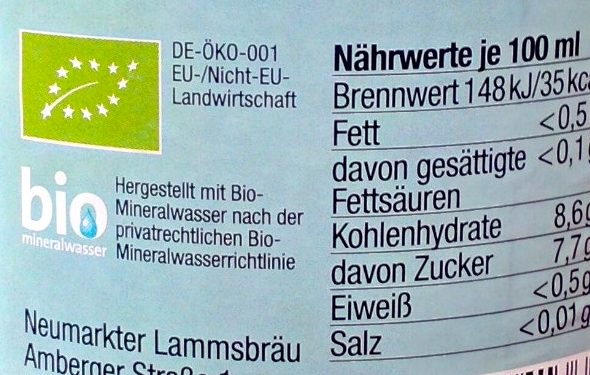 Now Fresh Lemon - Voedingswaarden - de