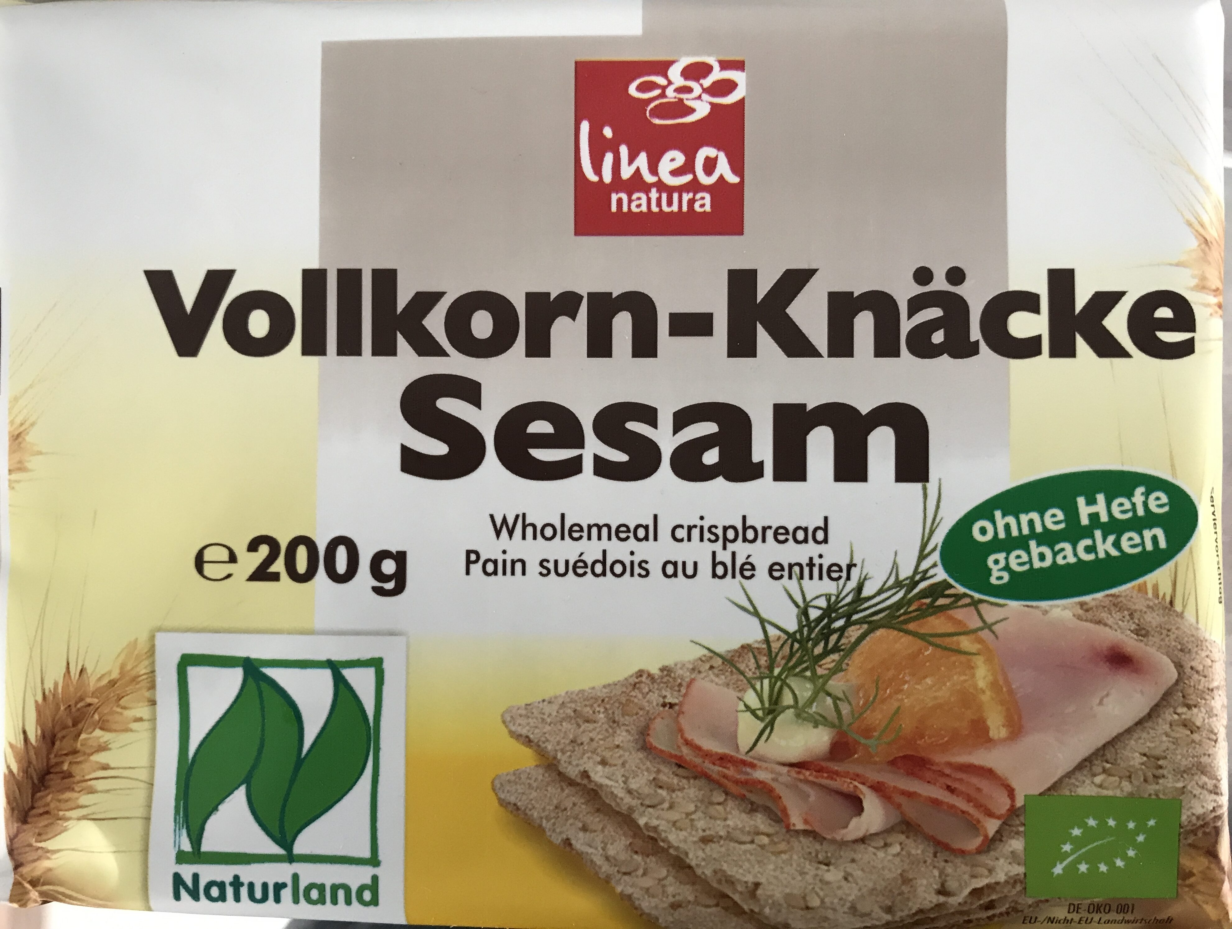 Vollkorn-Knäcke Sesam - Product - de
