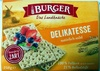 Burger Delikatesse - Produkt