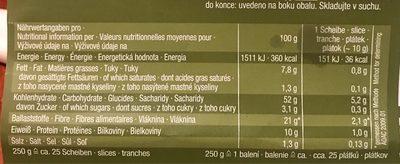 Sesam - Informations nutritionnelles - fr
