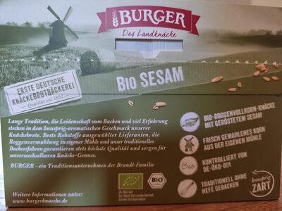 Burger Bio Sesam - Product - de