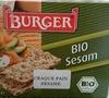 Burger Bio Sesam - Product