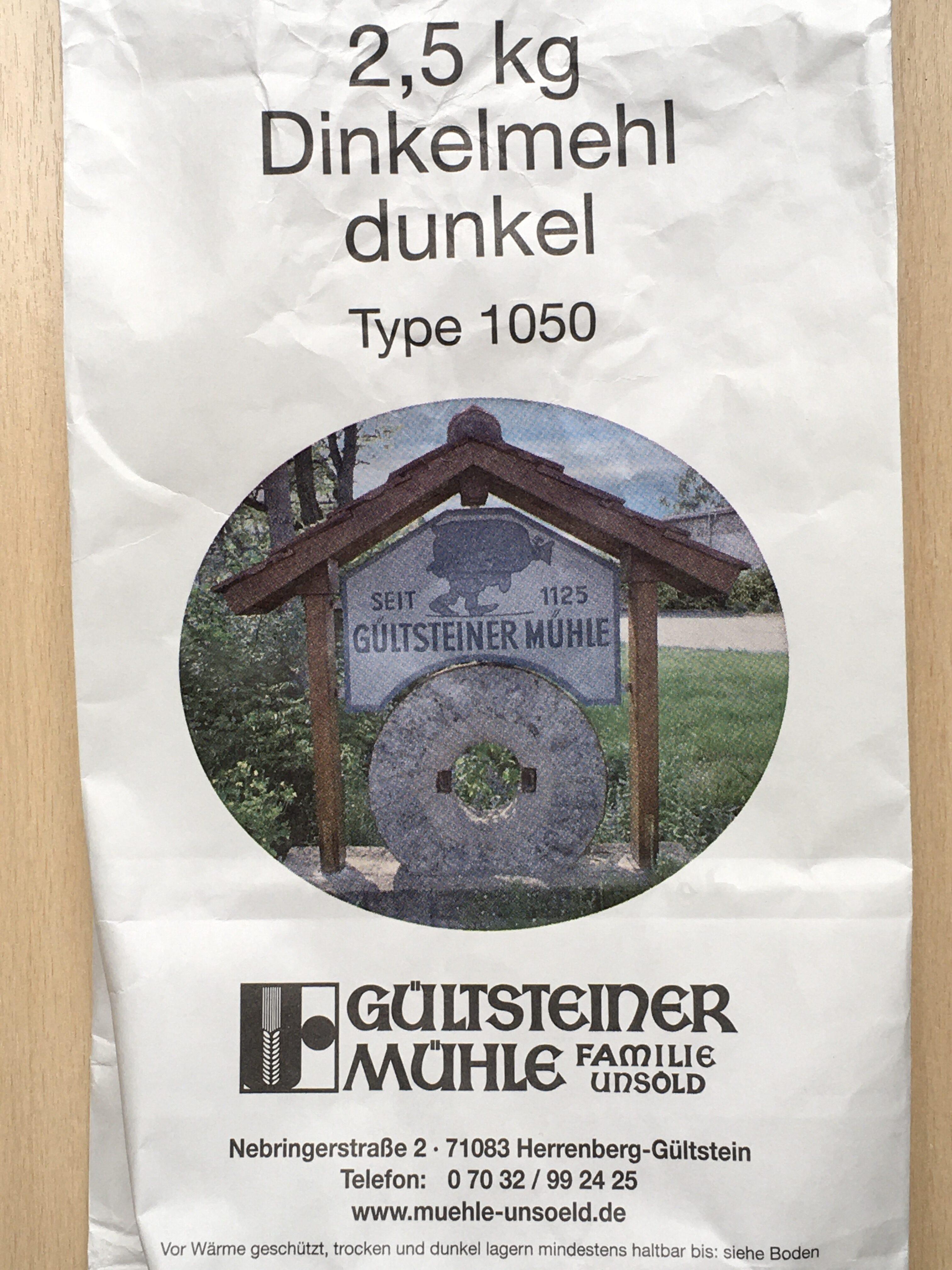 Dinkelmehl dunkel Type 1050 - Produkt - de