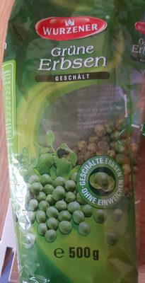Grüne Erbsen geschält - Produit - en