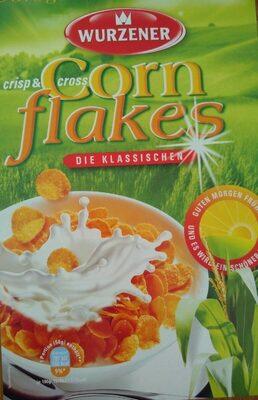 Crisp und Cross Cornflakes - Produkt - de