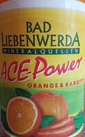 ACE-Power Orange & Karotte - Product - de