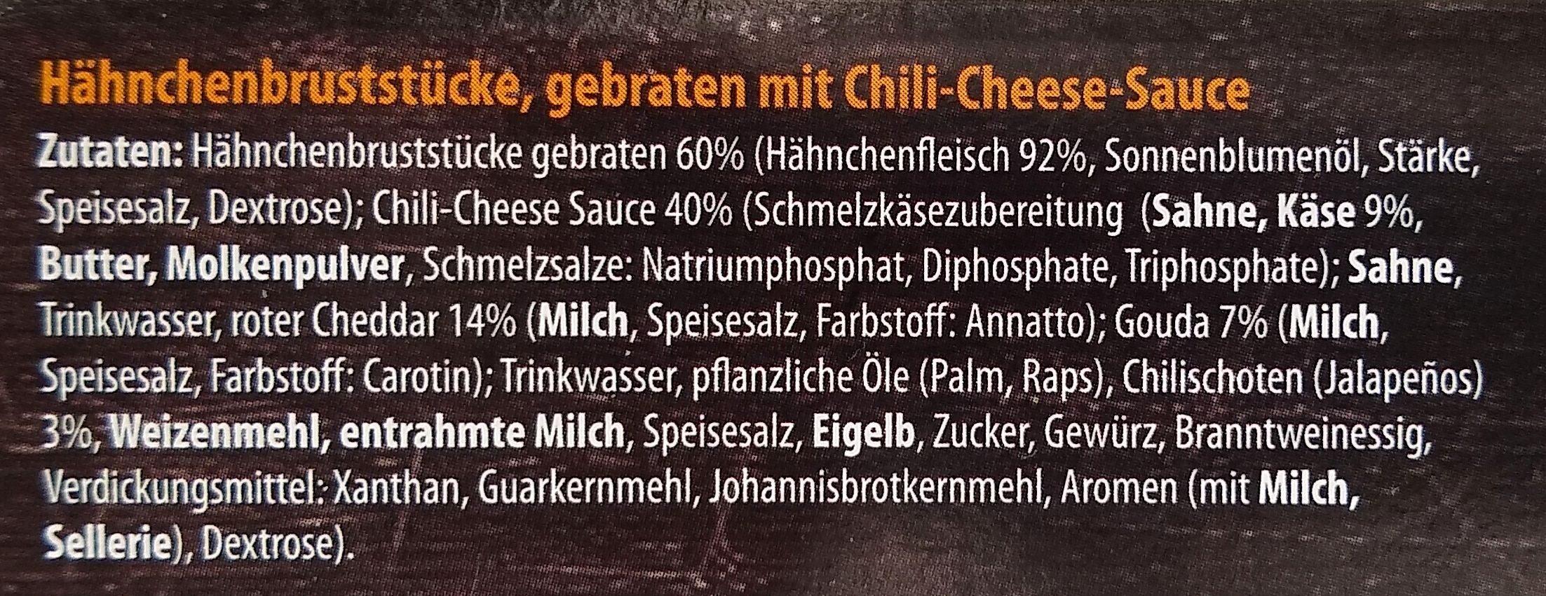 Chili-Cheese-Chicken - Ingredients - de