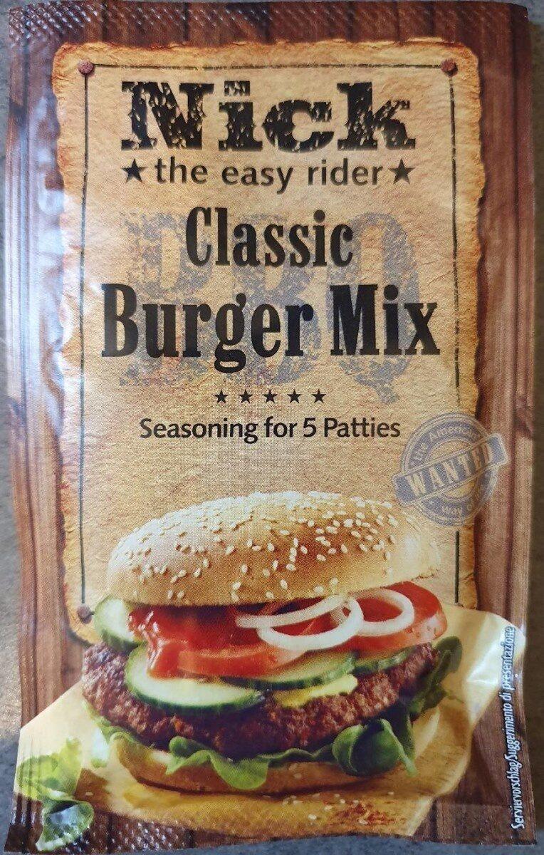 Épices pour viande burger - Product - fr