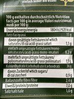 Reis Snack - Informations nutritionnelles - de