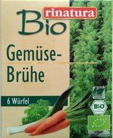 Bio Gemüse-Brühe - Produit