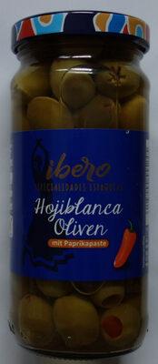 Hojiblanca Oliven mit Paprikapaste - Produkt - de