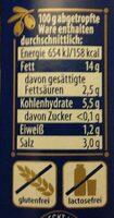 Hojiblanca Oliven - Informations nutritionnelles - de