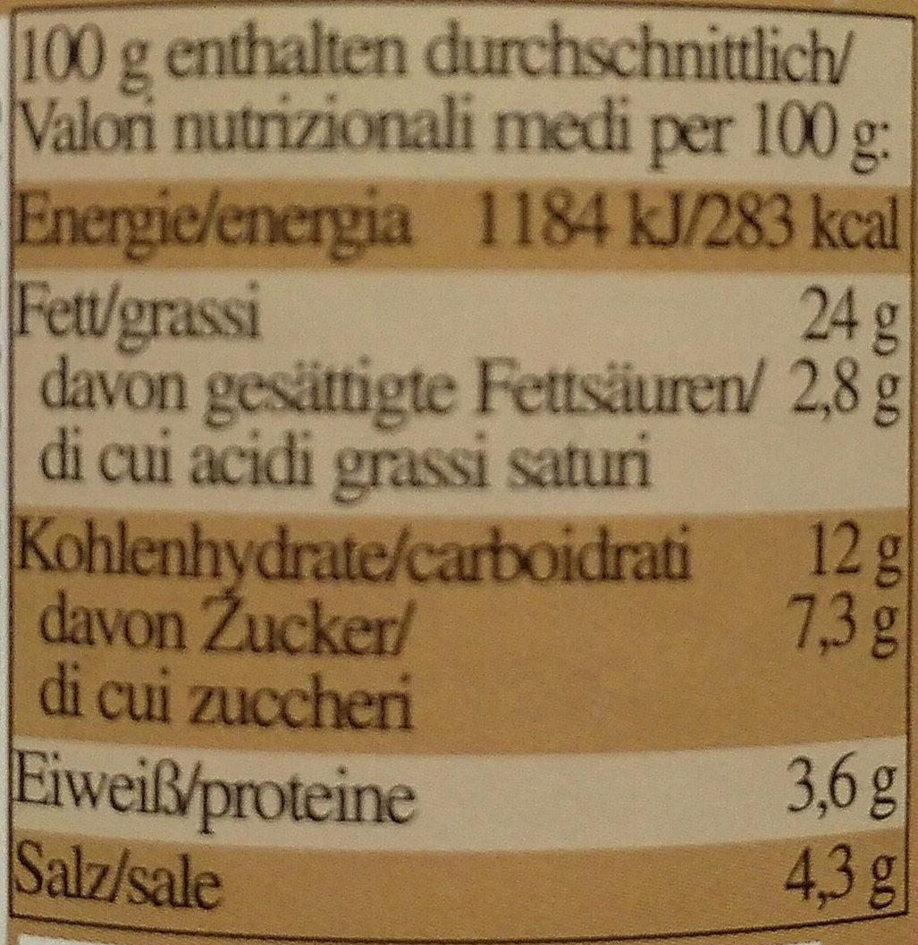 Curry-Paste mild - Voedingswaarden - de
