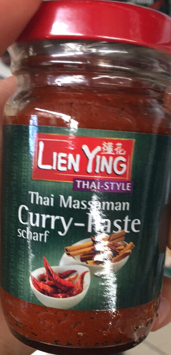 Thai Massaman Curry-Paste scharf - Product - de