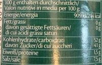 Hoi sin-paste - Valori nutrizionali - fr