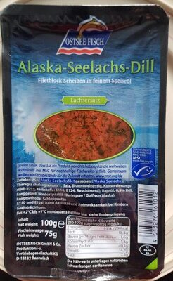 Alaska-Seelachs-Dill - Produkt - de