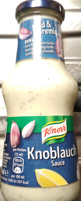 Knoblauchsauce - Produkt