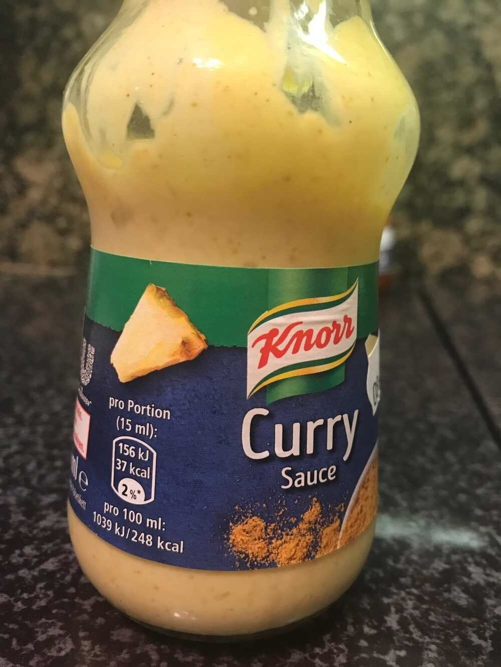 Knorr sauce curry - Produkt