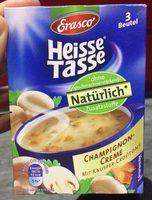 Heiße Tasse Champignon-Creme - Produkt