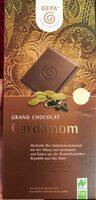 Grand chocolat cardamon - Product
