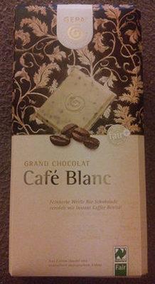 Chocolat cafe blanc - Product