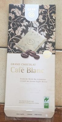 Chocolat cafe blanc - Produit - fr
