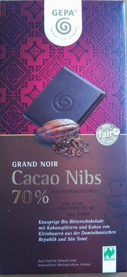 Cacao Nips, 70% Cacao - Product