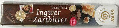 Fairetta Ingwer Zartbitter - Produkt