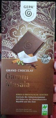 Grand Chocolat Garam Masala Kokos