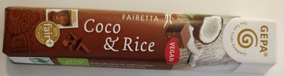 Fairetta Coco & Rice - Product - de