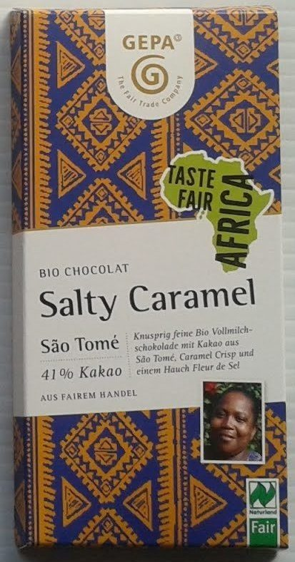 Bio Chocolat Salty Caramel - Product