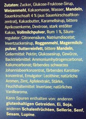 Herrenkonfekt - Ingrediënten - de