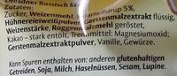 Dresdner Russisch Brot - Inhaltsstoffe - de