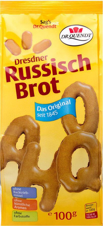 Dresdner Russisch Brot Original - Produit - de