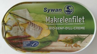 Makrelenfilet in Bio-Senf-Dill-Creme - Produkt