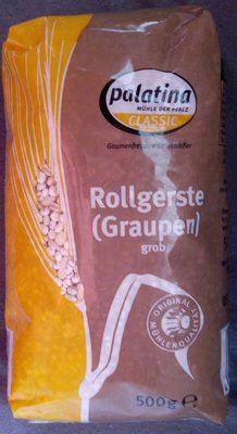 Rollgerste (Graupen) grob - Product - de