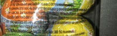Oeufs en chocolat - Ingredienti - fr