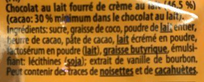 Riegelein Halloween Monsteraugen Fairtrade - Ingrediënten