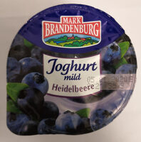 Mark Brandenburg Joghurt mild Heidelbeere - Produit