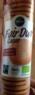 Fair duo cacao - Produit