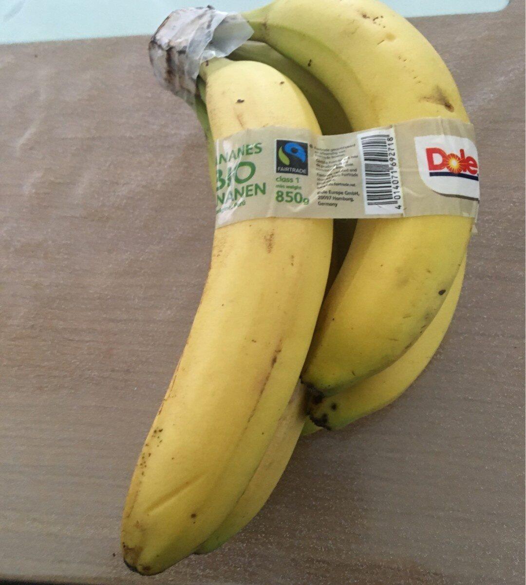 Banane bio - Ingrediënten