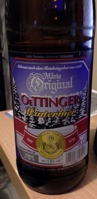 Oettinger Winterbier - Product