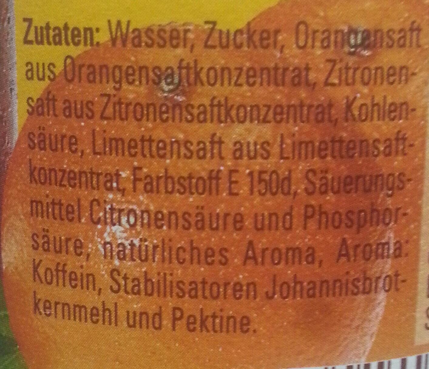 Glorietta Cola-Mix - Ingrediënten - de