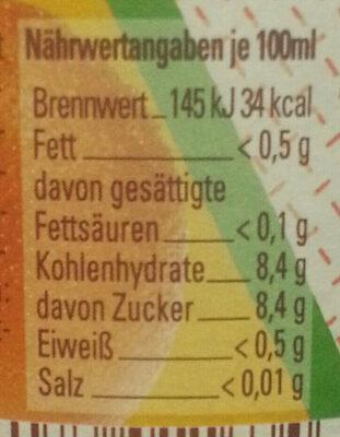 Glorietta Cola-Mix - Voedingswaarden - de