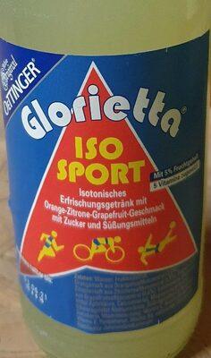 Gloroetta ISO SPORT - Produit - de