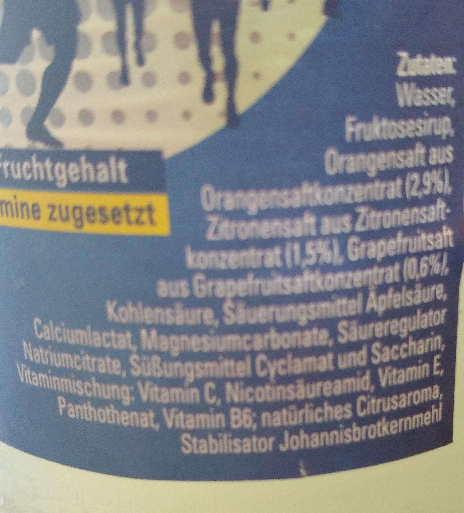 Gloroetta ISO SPORT - Ingrédients - de