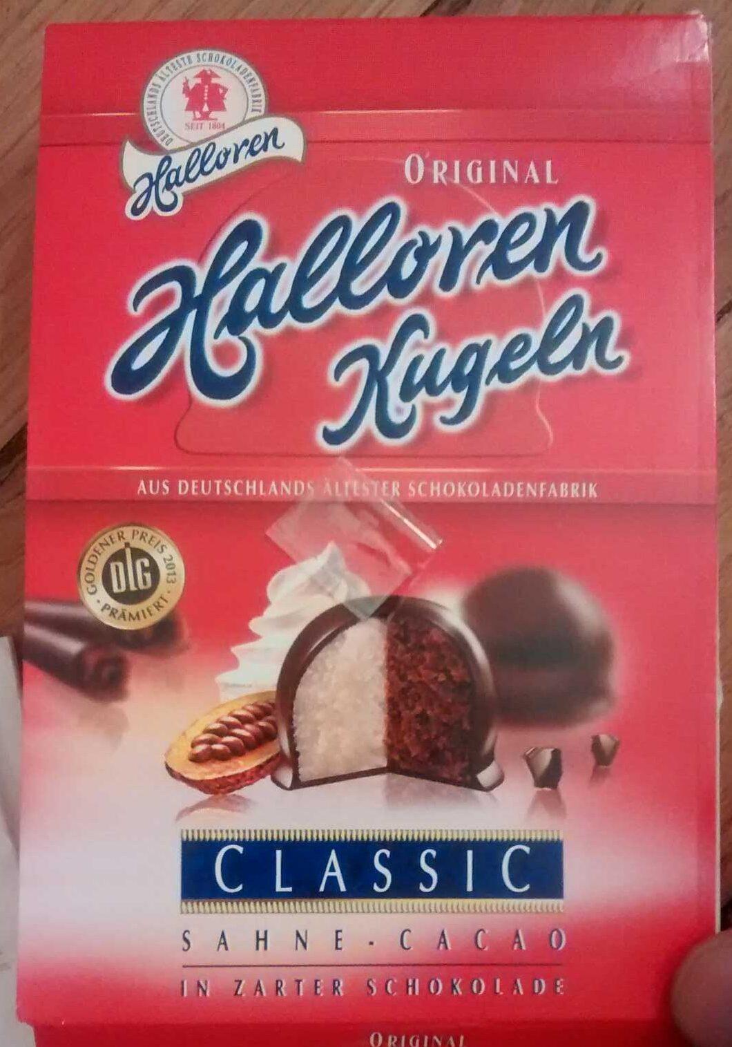 Halloren Kugeln Classic Sahne-cacao - Produit