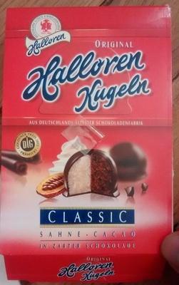 Halloren Kugeln Classic Sahne-cacao - Produkt